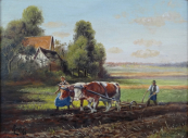 Reichl - Plowing Field