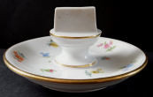 Porcelain stand for matches - Meissen