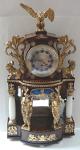 Column and Figural Portal Clock - Josef Scherzinger, Budweis