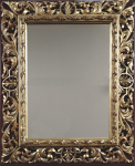 Large Florentine type mirror