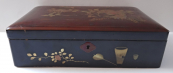 Large Chinese box, with birds