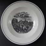 Plate with the theme of the Chain bridge 1. - Altrohlau
