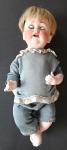 Doll with porcelain head - J. D. K.