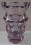 Small vase, cut - Alexandrit