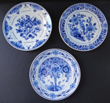 Three Faience plates - Delft