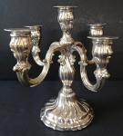 Smaller Silver Candleholder - Schwäbisch Gmünd