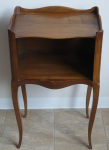 Small table with a large compartment and heart