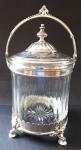 Glass Box, silver plated Metal - BMF, Berndorf