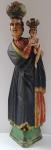 Larger wooden statue - Panna Marie Svatohorska
