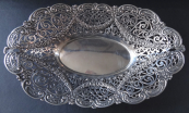 Silver bowl in a historic style - Schleissner, Hanau