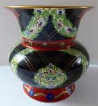 Painted vase, Alt Siam porzellan - Fraureuth