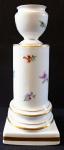 Column-shaped candlestick - Meissen