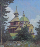 Adolf Hajducek - Chapel on Radhost