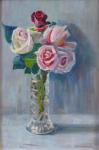 Vaclav Vyhnanek - Roses in a vase