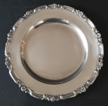 Round silver tray, biedermeier - Stephan Mayerhofer, Vienna 1835