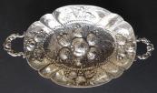 Neo-renaissance silver bowl with handles - Neresheimer, Hanau