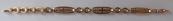 Goldarmband mit Ringen und Ovalen - Leopold Gugg, Vienna