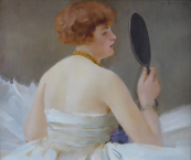 Emil Schovanek - Girl with a mirror