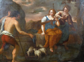 The meeting, Jacob and Rachel - around 1700