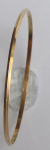 Gold bracelet with bevelled edges