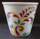Smaller porcelain flower pot - Rosenthal