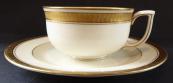 Tea cup with gilding - Pirkenhammer, Vichr Brünn