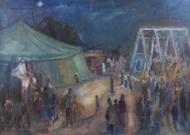 Frantisek Hradecky - At the Carousel