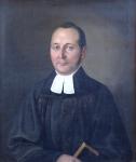 Alexandr Frant. (Miroboh) Belopotocky (Fejerpataky) - Portrait of a priest