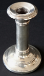 Smaller silver candlestick - Charles Boyton & Son., London 1906