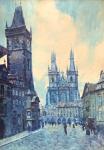 Jaroslav Holecek - Old Town Square in Prague