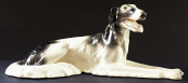 Lying Greyhound - Royal Dux 1918 - 1935