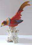Statuette of a colorful ornamental pheasant - Limbach
