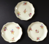 Three bowls, with little flowers - Rosenthal