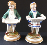 Boy and girl, with clothes - Fischer & Mieg, Pirkenhammer
