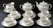 Tea, porcelain gilded service - Verbilki, Dmitrov