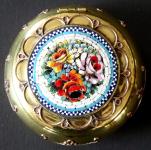 Brass box with Venetian mosaic
