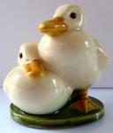 A pair of ducklings - Emilie Schleiss, Wiener a Gmundner Keramik