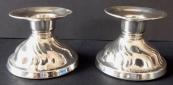 Two small candlesticks - Jakob Grimminger, Schwäbisch Gmünd