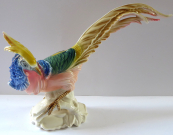 Statuette, colored pheasant - Karl Ens, Volkstedt
