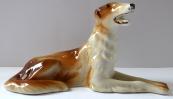 Smaller greyhound statuette - Royal Dux