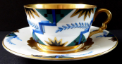 Art deco, painted and gilded cup - Rosenthal