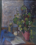 Dagmar Bromova - Still life with flowers in a watering can