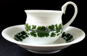 Empire style Meissen cup with grapevine