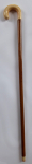 Walking stick with ivory handle