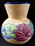 Art Nouveau vase with flowers - Amphora, Trnovany