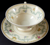 Coffee cup, Rococo style - Tirschenreuth