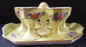 Serving porcelain egg set - Jakubov