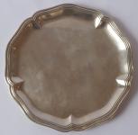 Silver Round Tray - Pochon & Freres, Switzerland