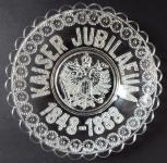 Jubilee Glass Plate - Franz Joseph I.