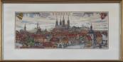 Hannes Rischert - Veduta of Bamberg